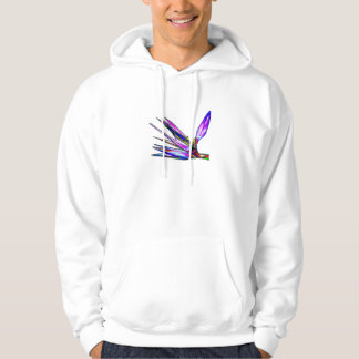 Bird of Paradise Flower (Colored Foil Effect) Hoodie