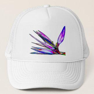 Bird of Paradise Flower (Colored Foil Effect) Trucker Hat