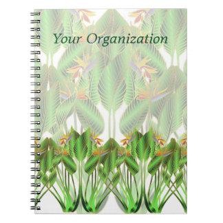 Bird-of-Paradise Flower Notebook