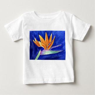 Bird of Paradise Flower Painting Art T-Shirt