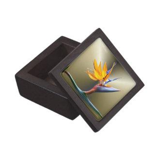 Bird of Paradise Flower Premium Trinket Box