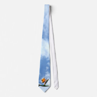 Bird of Paradise Flower Tie