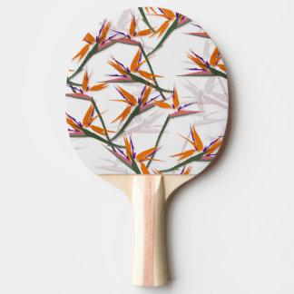 bird OF paradise Ping Pong Paddle