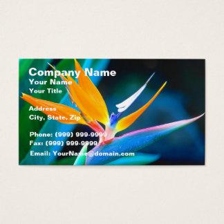 Bird Of Paradise (Hawaii) Business Card