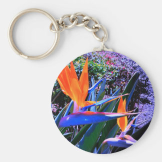 Bird of Paradise Hawaii Keychain