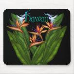 Bird of Paradise Hawaii Mousepad