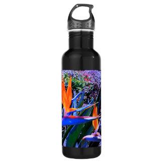 Bird of Paradise Hawaii Stainless Steel Water Bottle