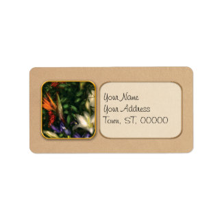 Bird of Paradise II Custom Address Label