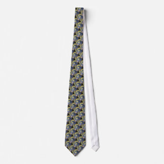 Bird of Paradise: IndigoYellow Neck Tie