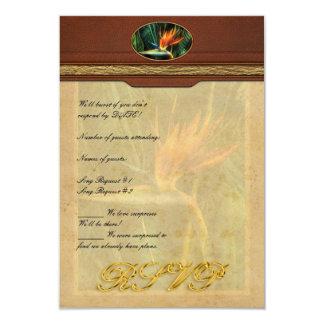 Bird of Paradise Invitations