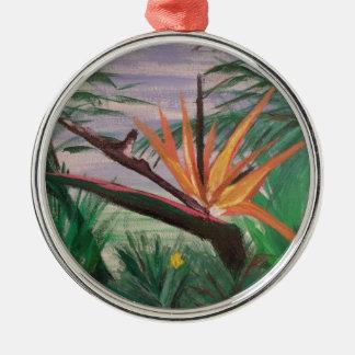 Bird of Paradise.jpg Metal Ornament
