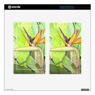 Bird of Paradise Kindle Fire Skin