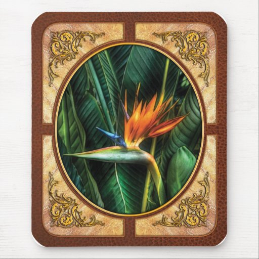 Bird of Paradise Mouse Pad