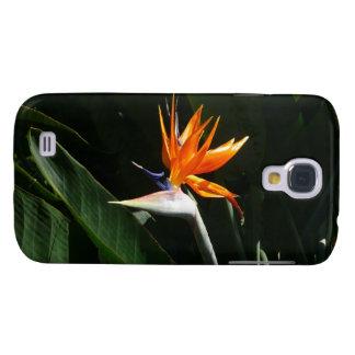Bird of Paradise Orange Tropical Flower Galaxy S4 Case