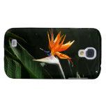 Bird of Paradise Orange Tropical Flower Samsung S4 Case