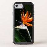 Bird of Paradise Orange Tropical Flower Speck iPhone Case