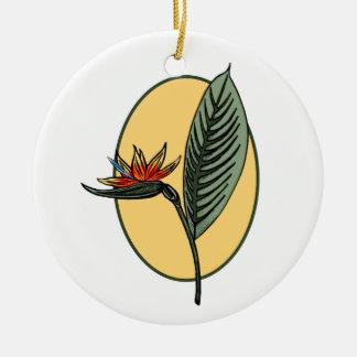 Bird of Paradise Christmas Ornaments
