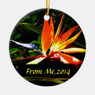 Bird of Paradise Ornament  II