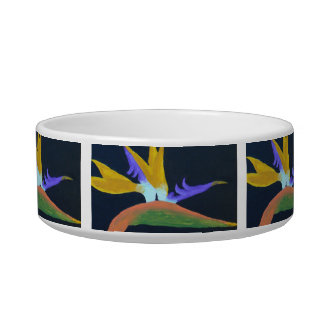 Bird Of Paradise Pet Bowls
