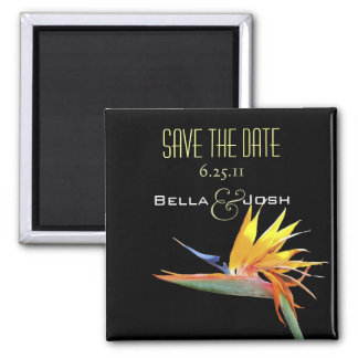 Bird of Paradise Save the Date Magnet