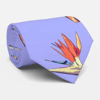 Bird Of Paradise, Shaded Cell Neck Tie