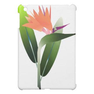 Bird of Paradise Silk Screen iPad Mini Cover
