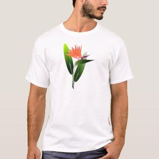 Bird of Paradise Silk Screen T-Shirt