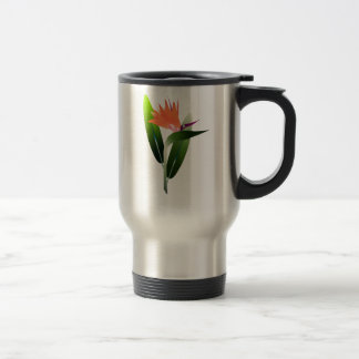 Bird of Paradise Silk Screen Travel Mug