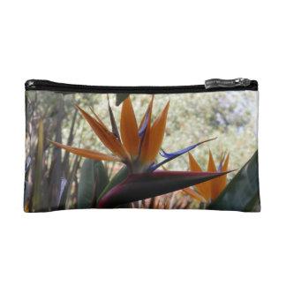 Bird of paradise small cosmetic bag