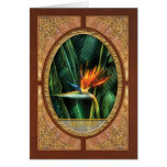 Bird of Paradise Stationery Note Card