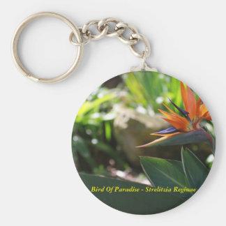 Bird Of Paradise - Strelitzia Reginae Keychain