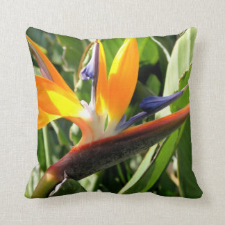 Bird of Paradise Throw Pillow