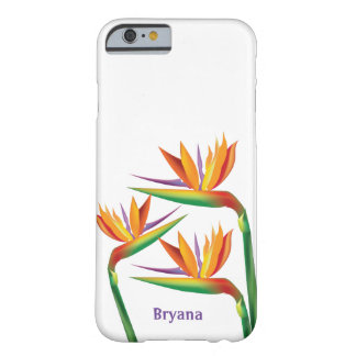 Bird of Paradise Tropical Floral Phone Case