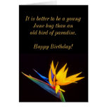 Bird of Paradise: Tropical Flower Greeting Card