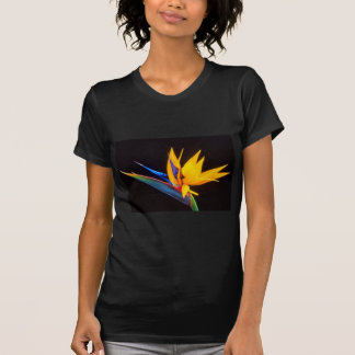 Bird of Paradise: Tropical Flower T-shirts