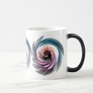 Bird of Paridise Spiral Coffee Mug