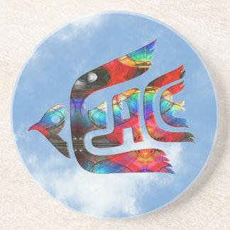 Bird of Peace Drink Coasters