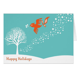 Bird of Peace Greeting Cards