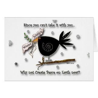 Bird of Peace Greeting Cards
