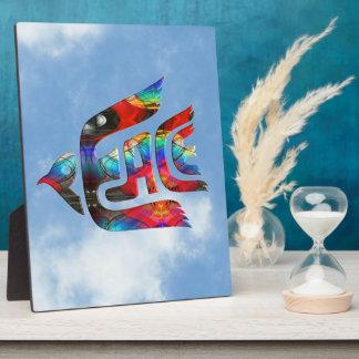 Bird of Peace Photo Plaque