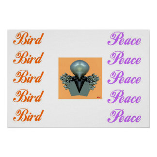 Bird Of Peace Posters