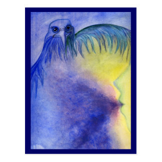 Bird of Pray Postcard