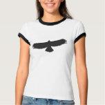 Bird of Prey 04 - Ladies Ringer T-Shirt