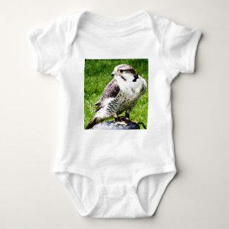 Bird of Prey #1-peregine falcon Baby Bodysuit