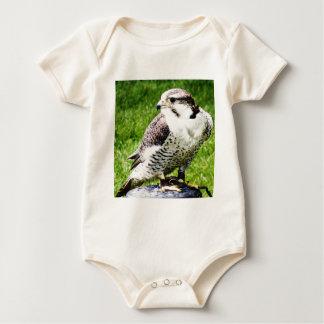 Bird of Prey #2-Peregrine falcon Baby Bodysuit