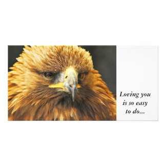 Bird of Prey, Loving you is so easy to do Photo Cards