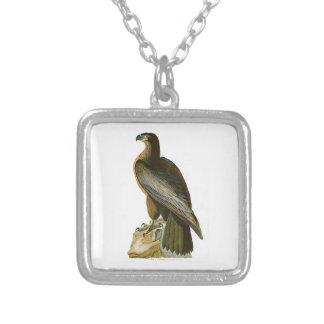 Bird of Washington John Audubon Birds of America Square Pendant Necklace