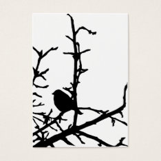 Bird on a Branch ATC Business Card at Zazzle