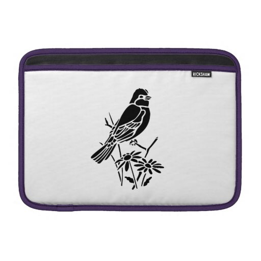 Bird on a Branch Sleeves For MacBook Air