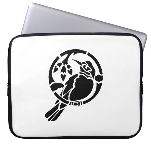 Bird on a Branch Laptop Computer Sleeves